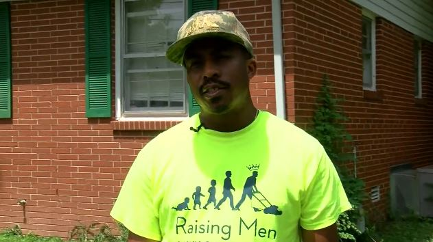 Rodney Smith Jr. Mows Lawns for Vets in 50 States