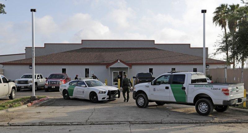 US Border Patrol Migrant Processing Facility