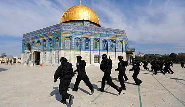 Image result for Rioting on the temple mount pictures