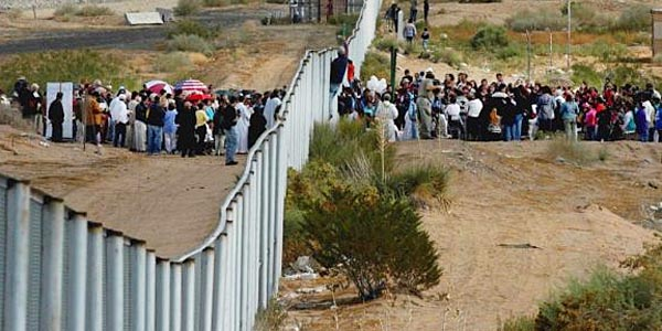 mass influx of mexican males into US