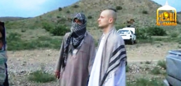 Taliban video shows release of Army Sgt. Bowe Bergdahl May 31