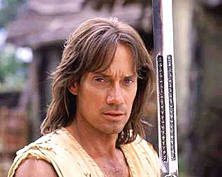 "Kevin Sorbo in his ""Hercules"" role"