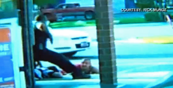 BLACK COP KILLS WHITE MAN, MEDIA HIDE RACE