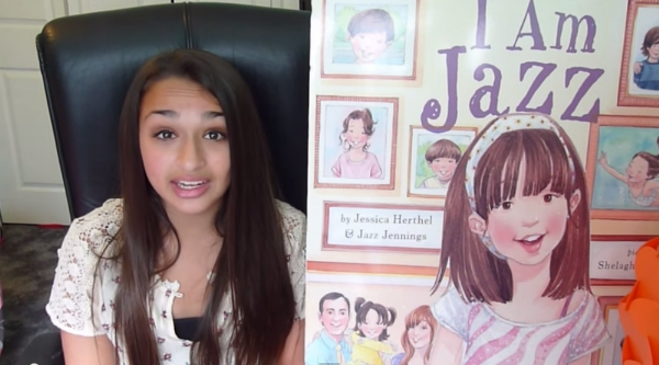 Jazz Jennings, a transgender teenager, wrote a book about having a