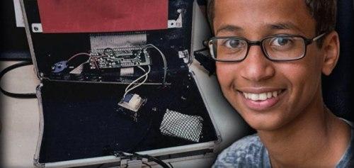 "Ahmed Mohamed, a.k.a. ""Clock Boy"""