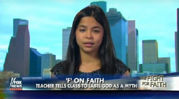 Seventh grader made to say there is no God 11-29-15