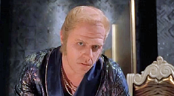"""Actor Tom Wilson portrays the wealthy loudmouth Biff Tannen in """"Back to the Future II"""""""