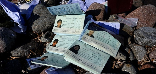 Syrian passports like these are available on the black market and easily obtained by so-called 'refugees.'