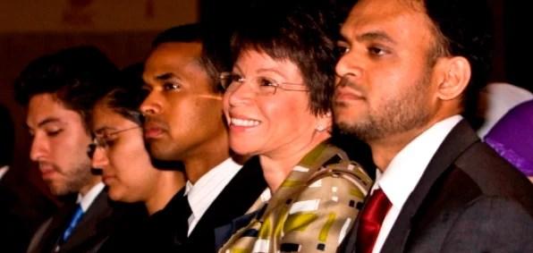 Obama senior adviser Valerie Jarrett at ISNA's annual convention in 2009 (Photo credit: Vince Isner, ISNA)