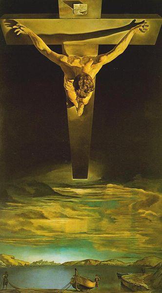 Christ of Saint John of the Cross by Salvador Dalí