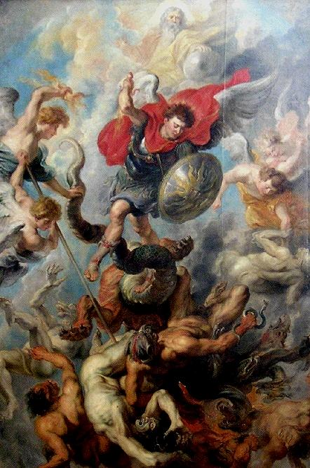 War in Heaven by Rubens
