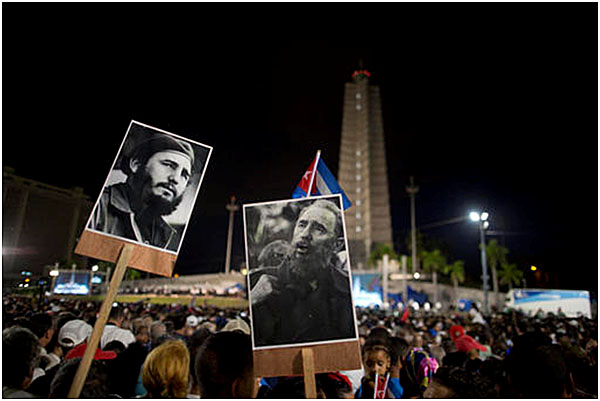 Funeral for Fidel Castro, Revolutionary Square, Ruler of Cuba 1959-2008