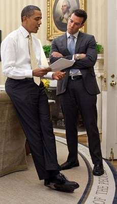 President Obama's former speechwriter Jon Favreau (White House photo)