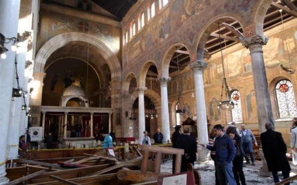 St. Peter & Paul Chapel in Cairo Bombed by Muslims in November 2016 killing 25 Christians