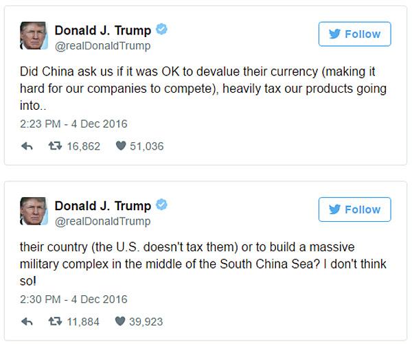 Trump-China-tweets