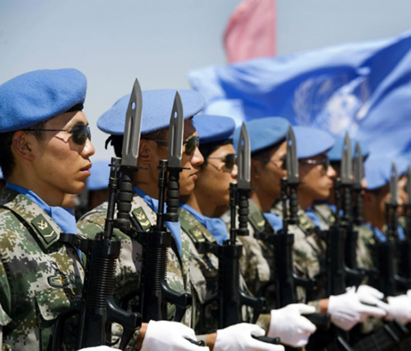 China's deployment of soldiers in United Nations peacekeeping operations is an interesting geostrategic development of the 21st century
