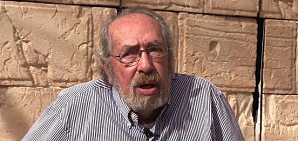 Israeli archaeologist Gabriel Barkay