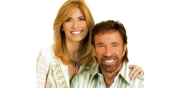 Chuck and Gena Norris