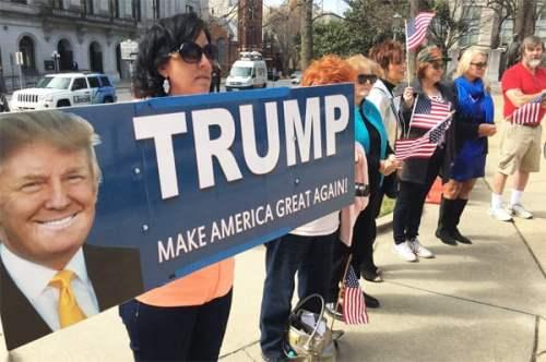 Feb. 27, 2017, Spirit of America rally in Raleigh, North Carolina (Photo: Twitter)