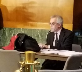 David Corn at Senate hearing.