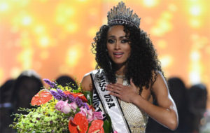 Kara McCullough, crowned Miss USA, is a black conservative who said she believes health care is a 'privilege' (Photo: Twitter)