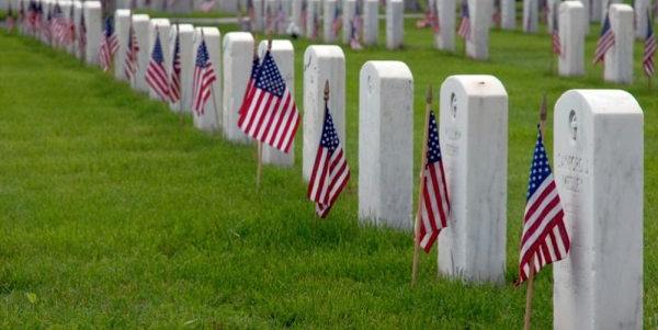 cemetary military graves