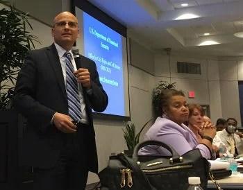 CAIR's Kareem Shora at DHS event