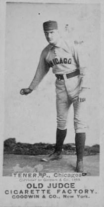 Baseball card of Rep. John Tener, R-Pa.
