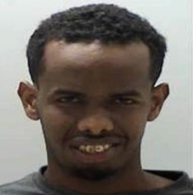 Mohamed Ayanle was charged with raping a woman on a bus in Polk County, Minnesota, in December 2016.