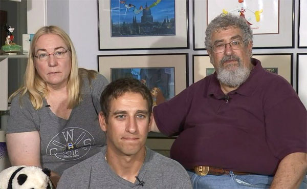 Seth Rich's parents, Joel and Mary Rich, and brother, Aaron