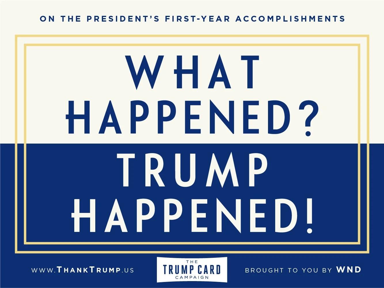 Thank Trump Card #5