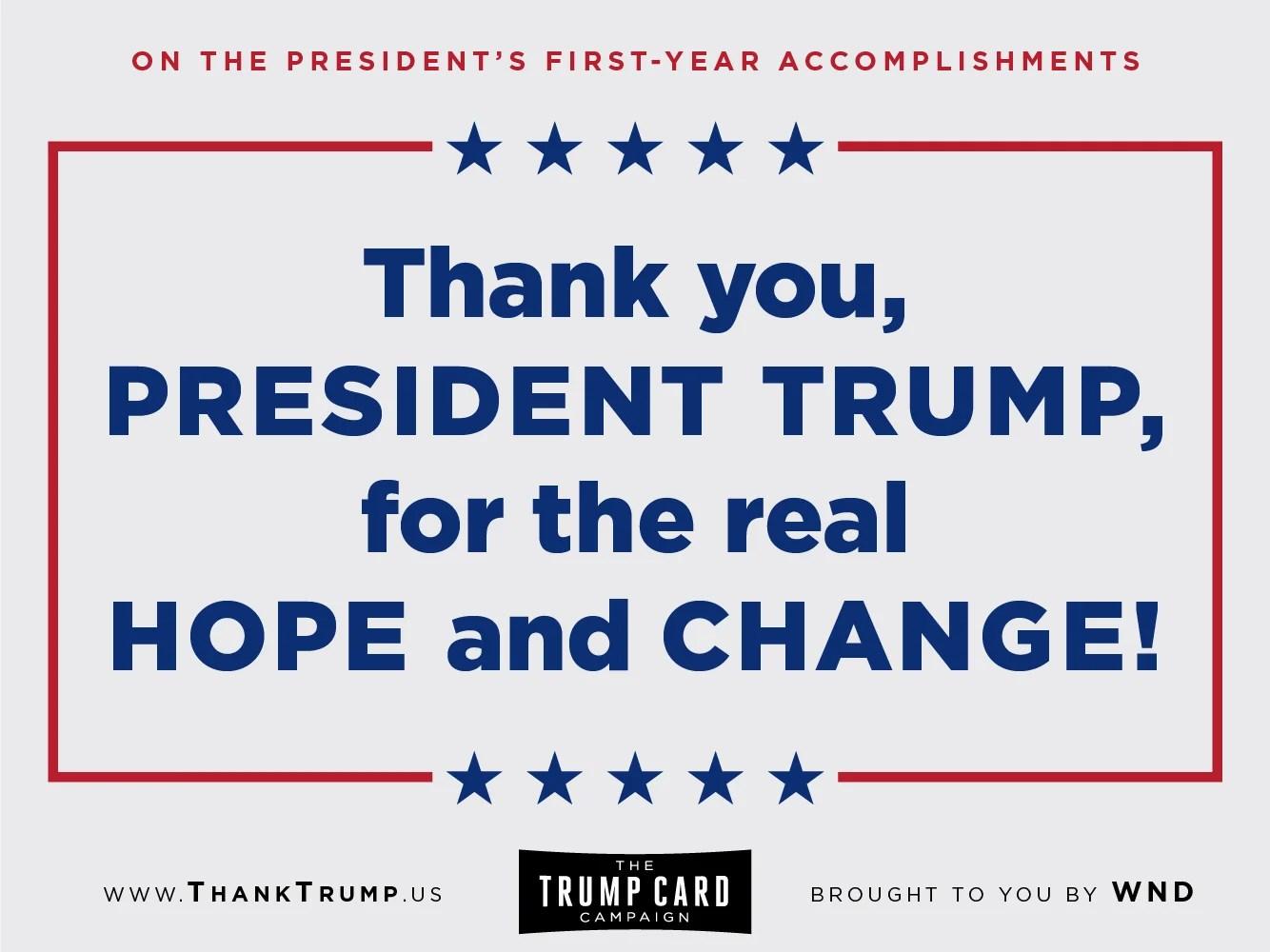 Thank Trump Card #4