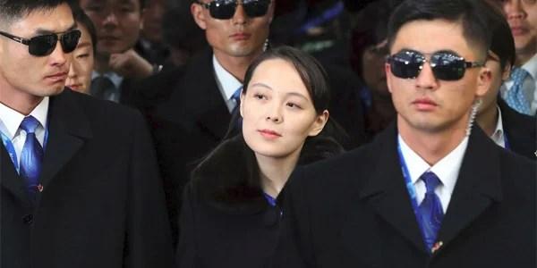 Kim Yo-jong, sister of North Korean dictator Kim Jong Un (Photo: Twitter)