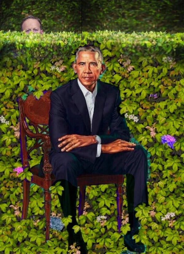 spicer-obama-bush