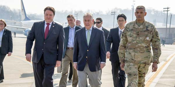 Then-Secretary of State Rex Tillerson visits South Korea (Photo: U.S. Embassy in Korea)