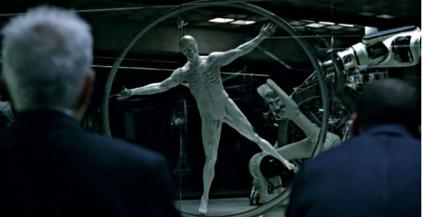 """Creation of a robot """"host"""" in the HBO show """"Westworld"""""""