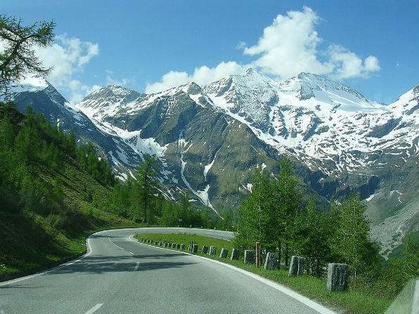 Grossglockner High Alpine Road in Austria