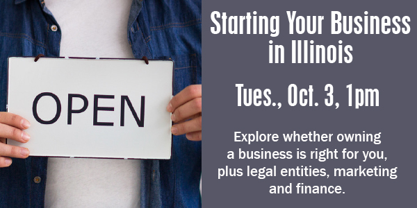 Small Business Starting Your Business in IL