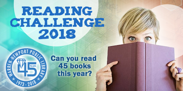 reading challenge, 45th anniversary