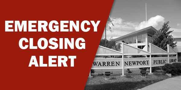 emergency closing alert