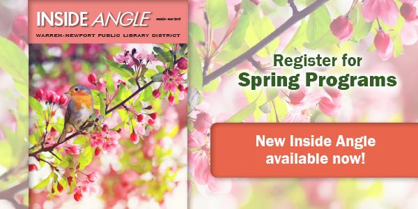 spring, Inside Angle, newsletter, programs