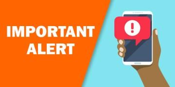 important alert, phone