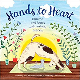 Hands to Heart by Alex Bauermeister; illustrated by Flora Waycott