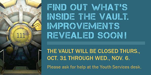 vault, The Vault, closing, improvements