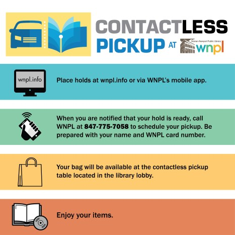 contactless pickup, instructions