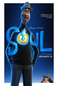 Animated movie poster with black man