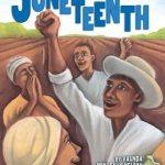 African Americans clebrate in a farm field