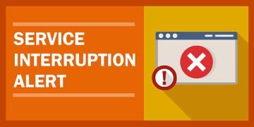 Service Interruption Alert