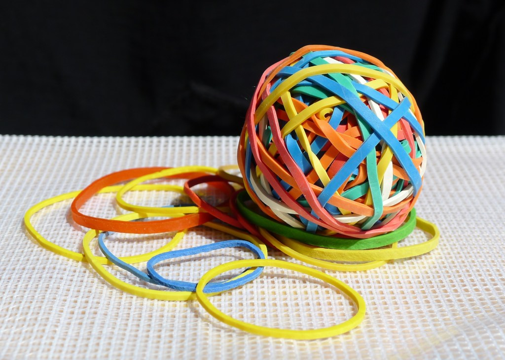 Can I Recycle Elastic Bands