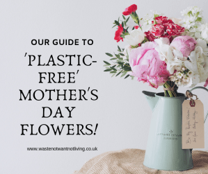 mothers day flowers plastic free